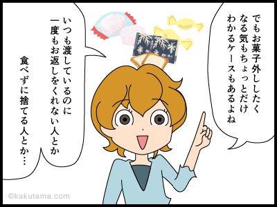 お菓子外しのキッカケの4コマ漫画3