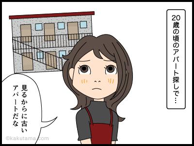 引越し先を探す4コマ漫画1