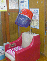 髪の毛乾燥機