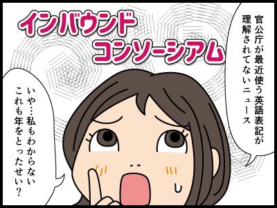意味のわからない外国語についての4コマ漫画1