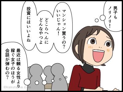 最近の女子の経済力についての漫画4