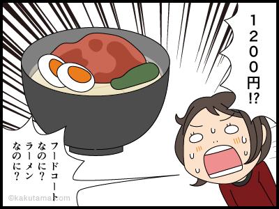 ラーメンは高いからスープを全部飲んでイイという漫画2