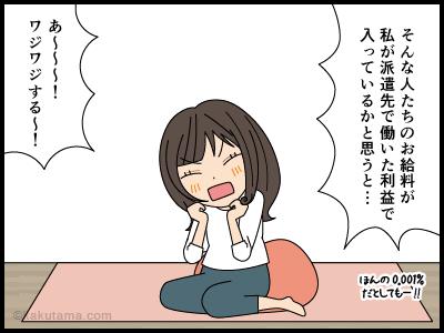 派遣社員の愚痴漫画4