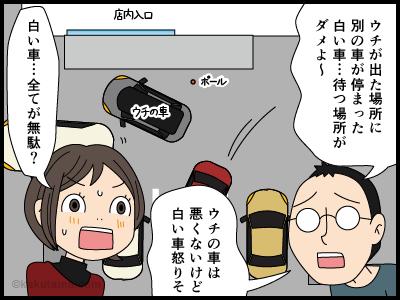 駐車場のトラブルに巻き込まれる漫画3