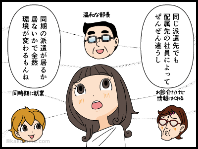 孤独な派遣社員の漫画3