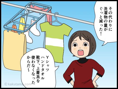 家族がテレワークで家に居ると減るものと減らないものがある漫画4