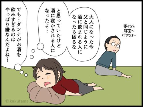 アルコールが嫌いな酒飲みの漫画4