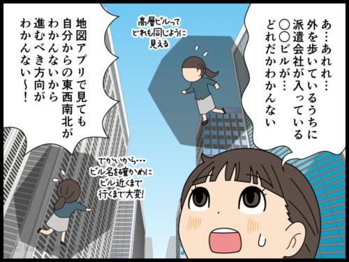 派遣会社は新宿副都心に会社を構えているコトが多い漫画2